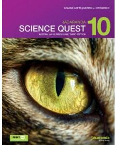 Jacaranda Science Quest 10 for the Australian Curriculum 3E learnON & Print