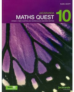 Jacaranda Maths Quest 10 Stage 5 NSW AC 2E LearnON & Print