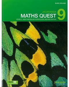 Jacaranda Maths Quest 9 Stage 5 NSW AC 2E LearnON & Print