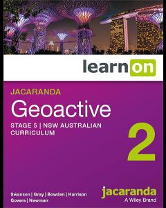 Jacaranda Geoactive 2 NSW AC Edition Stage 5 learnON (Access Code)