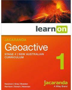 Jacaranda Geoactive 1 NSW AC Edition Stage 4 learnON (Access Code)