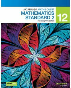 Jacaranda Maths Quest NSW 12 Mathematics Standard 2 5E Print + eBookPlus