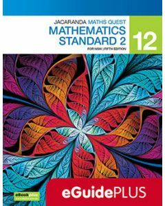 Jacaranda Maths Quest 12 Mathematics Standard 2 5E eGuidePLUS (Teacher Access Code)