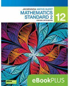 Jacaranda Maths Quest NSW 12 Mathematics Standard 2 5E eBookPLUS (Access Code)