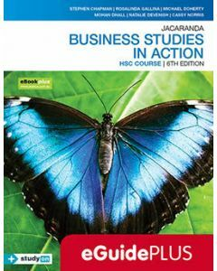 Jacaranda Business Studies in Action HSC 6E eGuidePLUS (Teacher Access Code)