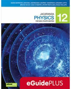 Jacaranda Physics 12 4E for NSW eGuidePLUS (Teacher Access Code)