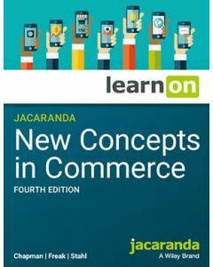 Jacaranda New Concepts in Commerce 4E NSW AC learnON (Access Code)