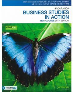 Jacaranda Business Studies in Action HSC 6E eBookPLUS & Print + StudyOn