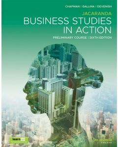 Jacaranda Business Studies in Action Preliminary 6e Print & learnON