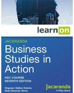 Jacaranda Business Studies in Action HSC 7e learnON (Access Code)