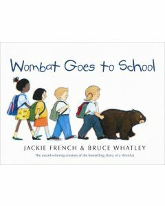Wombat Goes to School (Hardcover)