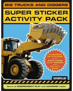 Big Trucks and Diggers: Super Sticker and Activity Pack