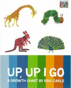 Up Up I Go: A Growth Chart by Eric Carle
