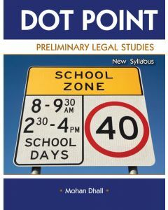 Dot Point Legal Studies Preliminary