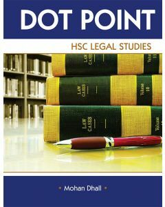 Dot Point HSC Legal Studies Revised