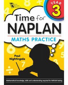 Time for NAPLAN Maths Practice 3
