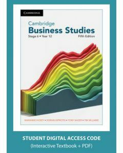 [Pre-order] Cambridge Business Studies Stage 6 Year 12 5e (digital) [Due Nov 2021]