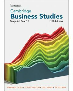 [Pre-order] Cambridge Business Studies Stage 6 Year 12 5e (print & digital) [Due Oct 2021]