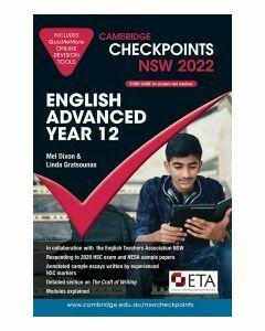 Cambridge Checkpoints NSW English Advanced Year 12 2022