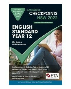 [Pre-order] Cambridge Checkpoints NSW English Standard Year 12 2022 [Due Sep 2021]