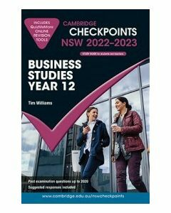 Cambridge Checkpoints NSW Business Studies Year 12 2022-23