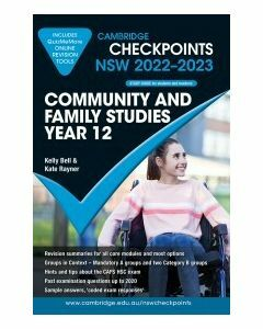 Cambridge Checkpoints NSW Community and Family Studies Year 12 2022-23