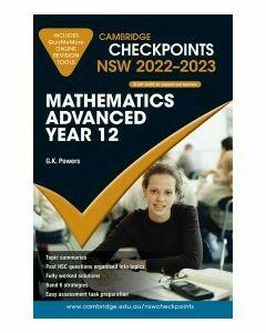 Cambridge Checkpoints NSW Mathematics Advanced Year 12 2022-23