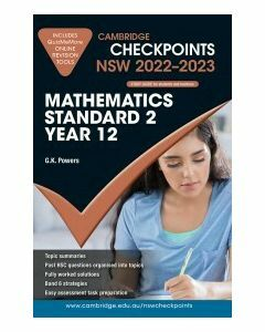 Cambridge Checkpoints NSW Mathematics Standard 2 Year 12 2022-23