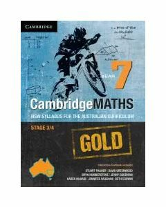 CambridgeMaths GOLD NSW for AC Year 7 (print and digital)