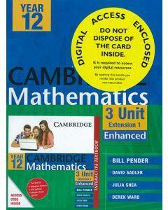 Cambridge Mathematics 3 Unit Year 12 Enhanced (Print and Digital)