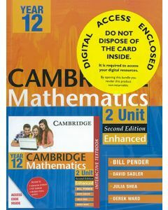 Cambridge 2 Unit Mathematics Year 12 Enhanced Version