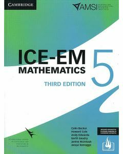ICE-EM Maths Year 5 - 3rd Edition (Print & Interactive Textbook)