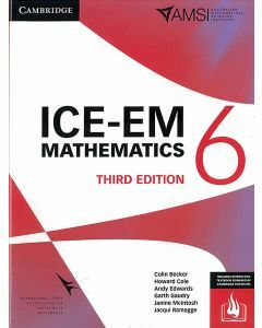 ICE-EM Maths Year 6 - 3rd Edition (Print & Interactive Textbook)