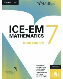 ICE-EM Maths Year 7 - 3rd Edition (Print & Interactive Textbook)