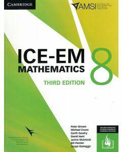 ICE-EM Maths Year 8 - 3rd Edition (Print & Interactive Textbook)