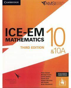 ICE-EM Maths Year 10/10A 3ed (Print & Interactive Textbook)