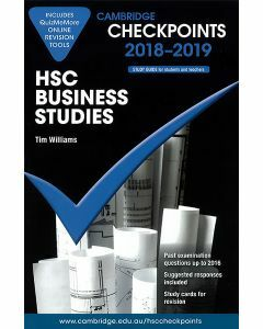 Cambridge Checkpoints HSC Business Studies 2018-2019