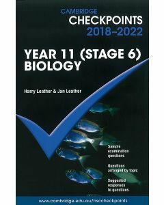 Cambridge Checkpoints Year 11 (Stage 6) Biology 2018-2022