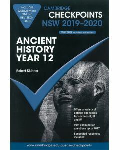 Cambridge Checkpoints Year 12 Ancient History 2019-2020