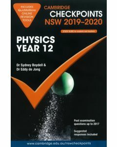 Cambridge Checkpoints Year 12 Physics 2019-2020