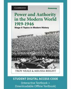 Power and Authority in the Modern World 1919-1946 (Digital Access Code)