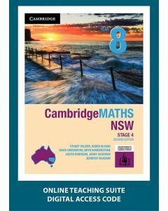 CambridgeMATHS NSW Year 8 Second Edition Online Teaching Suite