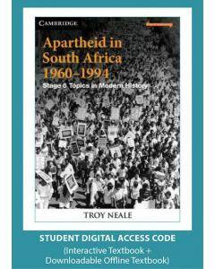Apartheid in South Africa 1960-1994 (Digital Access Code)