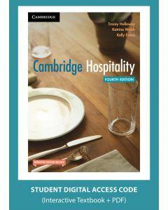 Cambridge Hospitality 4e (Digital Access Code)