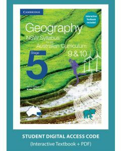 Geography NSW for the AC Stage 5 Year 9&10 digital (1 Access Code)