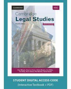 Cambridge HSC Legal Studies 4E (Digital Access Code)