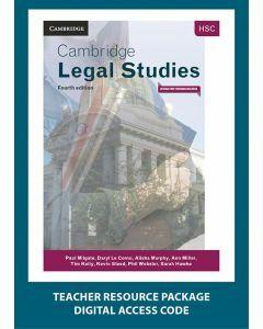 Cambridge HSC Legal Studies 4E Teacher Resource Package (1 Teacher Access Code)