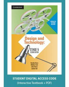 [Pre-order] Design and Technology Stage 5 2e interactive textbook (Access Code) [Due Jul 2019]