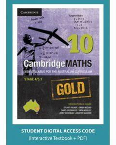 CambridgeMaths GOLD NSW for AC Year 10 (Digital Access Code)