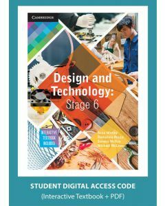 Design and Technology Stage 6 1ed (Digital Access Code)